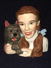 Warner Brothers Wizard of Oz Dorothy Toto Dog Cookie Jar               j5