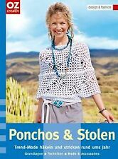 Ponchos & Stolen: Trend-Mode häkeln und stricken rund um...   Buch   Zustand gut