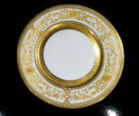 Stunning Bauscher Weiden, John Wanamaker Heavy Gilt Dinner plate
