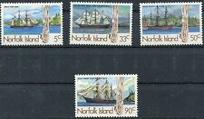 norfolk island 1985 siti balneari 1 serie 352-55  MHN