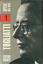 TOGLIATTI OPERE 1917 - 1935 4 volumi editori riuniti 1973 - 1974