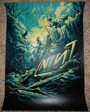 Nine Inch Nails Poster Toyota Music Irving 11/28 2018 Dan Mumford S/N 72/75
