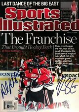 Carcillo & Stalberg Signed Sports Illustrated with Beckett Coa (No Label)