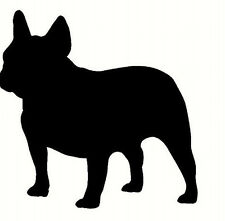 french bulldog , Car, van Sticker, silhouette. Great Gift For Dog Lover, new1a