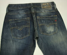 EUC - RRP $299 - Womens Stunning Replay 'WV557' Indigo Jeans Size W27-28 L34