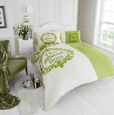 Duvet Cover & Pillowcases Quilt Cover Bedding Set ~Size Double & King