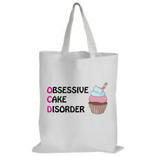 OCD - Obsessive Cake Disorder - Baking / Cupcake / Funny Gift Idea - Tote Bag