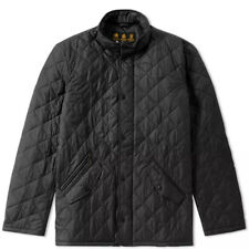 Men's Barbour Flyweight Chelsea Quilt Jacket MQU0007BK91 Black Size Small