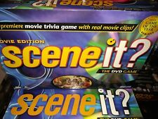 Scene It Movie DVD Board Game VERY CLEAN T.O.T.Y game of the year VERSION