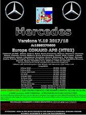 Mercedes Comand Aps NTG2 V.19 Aggiornamento Mappe  2017 2018 ULTIMA USCITA