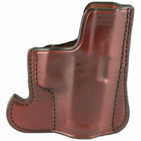 Don Hume, 001 Front Pocket Holster, for Glock 43/43X, Ambi, Brown Leather