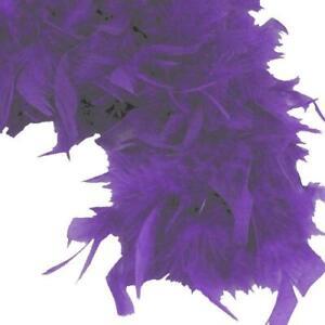HSC Purple TURKEY Feather Boa