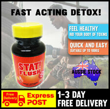 Stat Flush Rapid Detox Capsules Clear Toxins Cleansing Program Instant One Hour