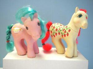 2 My Little Ponies