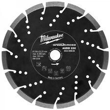 MILWAUKEE SPEEDCROSS AUDD 230MM DIAMOND BLADE 4932399826