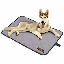 """Paw Essentials 32"""" x 49"""" Oxford Waterproof Pet/Dog Mat for Home, Car, Outdoor"""