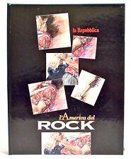 SOLO CONTENITORE RACCOGLITORE FASCICOLI - L'AMERICA DEL ROCK - LA REPUBBLICA