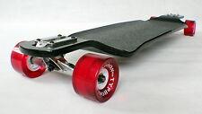 Drop down through long distance pushing longboard skateboard Downhill DH cruise