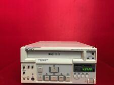 Sony SVO-9500MD Video Cassette Recorder S-VHS Stereo HI-FI Medical Ultrasound