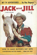 1961 JACK and JILL MAGAZINE - ROY ROGERS & TRIGGER ON THE COVER