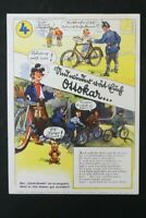 alter Druck Werbung CONTINENTAL  Ottokar Nr. 4 Löschblatt old vintage
