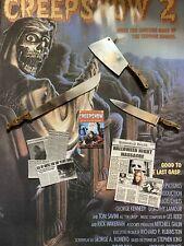 Custom 1/6 Weapon And Accessory Set Horror Hot Toys Jason Myers Creepshow