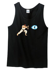 Street Fighter Ryu Hadouken Classic Nes Nintendo shirt TANK TOP NEW Many Colors
