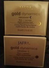 Jafra Gold Dynamics Recover day Cream / night Cream 1.7 FL.OZ.  Retail $100.00