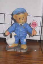 "Cherished Teddies 4765560 Kent ""Officer, I've Got a Warrant."" 1999 New in Box"