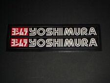 Yoshimura Adesivo Decalcomania Scarico Race GP Moto Bapperl Adhesivo Logo 9Z