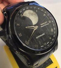 New Renato Martin Braun Hand Modified Black IP Gray Dia Automaticl Watch