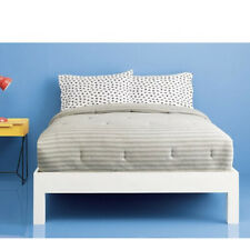 Room Essentials, Jersey Comforter, Size: TwinXL, Color: Gray stripe