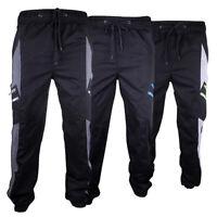 Boys Location Fleece Bottoms Tracksuit Track Pants Cuffed Joggers Pant Junior PE