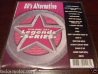 80s Alternative Legends Karaoke CDG 15 Sgs THE CLASH Cars BOY GEORGE Devo
