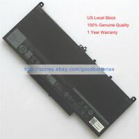 Genuine new 7.6V 55Wh J60J5 242WD battery for Dell Latitude E7470 E7270 E7260