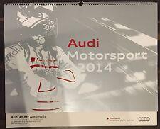 Audi Sport Motorsport Kalender 2014 S-Line