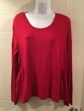 Lovefire Womens Red Blouse. X-large