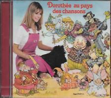 """CD ALBUM DOROTHÉE """"DOROTHÉE AU PAYS DES CHANSONS"""" INCLUS """"RÉCRÉ A2 NEUF SCELLE"""