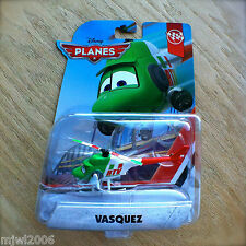 Disney Planes VASQUEZ Racing Sports Network Team Theme diecast DLT16 RTV Copter