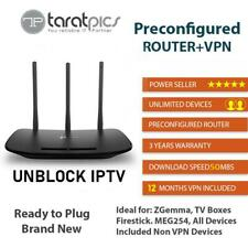 Pre-configured VPN Router ⭐️ 12 Months Subscription ⚡️ Ready To Plugin and Use