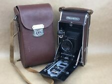 Gomz Moment Vintage Russian Made Brown Polaroid Camera w/ 13.5cm T-26 - Rare