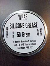 SILICONE GREASE WRAS APPROVED 50g HANDY TIN.   W R A S 50 grams
