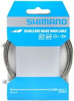 1 or 2-Pack Shimano Double-End Brake Inner Cable 2050mm x 1.6mm MTB/Road Bike