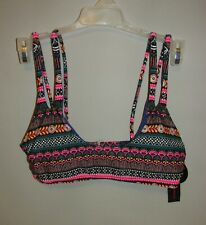 Juniors CUTE Aztec Print Bikini Top (Size Small 3/5) BRAND NEW W TAGS!!