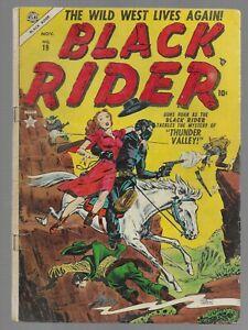 Black Rider #19 1953 Atlas Golden Age Western Comic Book VG