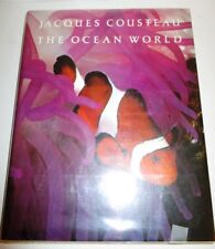 JACQUES COUSTEAU THE OCEAN WORLD VERY LARGE 361 PLATES IN FULL COLOR 1979