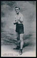 Jack Meekins UK England boxer Boxing Sports original 1910s postcard