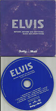 ELVIS PRESLEY BEST w/ LIVE & ALTERNATE TRX Europe NEWSPAPER PROMO CD USA seller