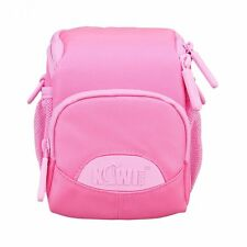 JJC KIWIfotos Kcc-001 Shoulder Bag With Strap and Raincoat for Camera - Pink
