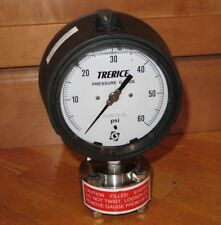 Trerice Liquid Filled Stainless Steel 60psi 450 Pressure Gauge w/SS Diaphragm